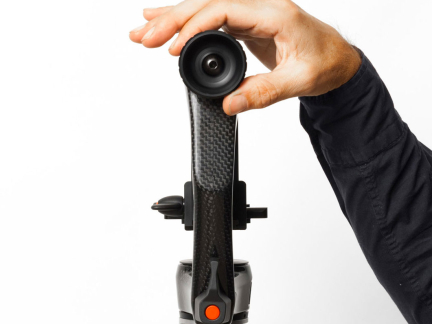 Carbon Fiber Gimbal Head